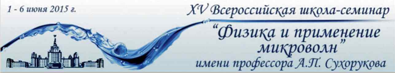 Всероссийская школа-семинар Волновые Явления в Неоднородных Средах